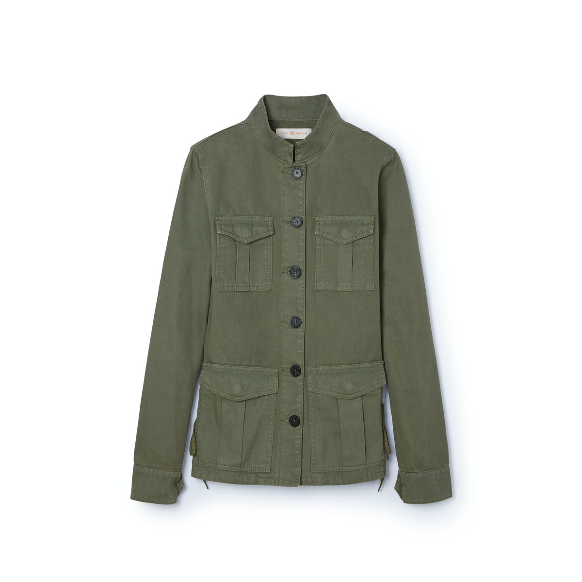 Tory-Burch---Side-laced-jacket-in-agave