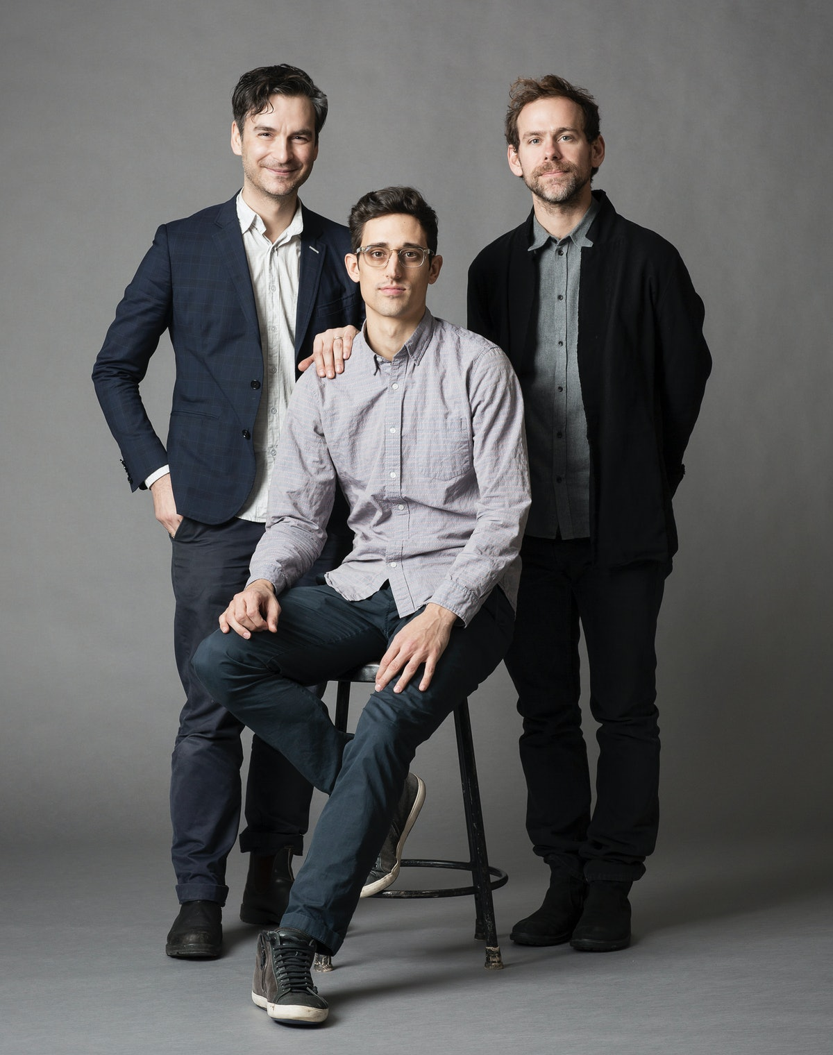 Marcel Dzama, Justin Peck, and Bryce Dessner