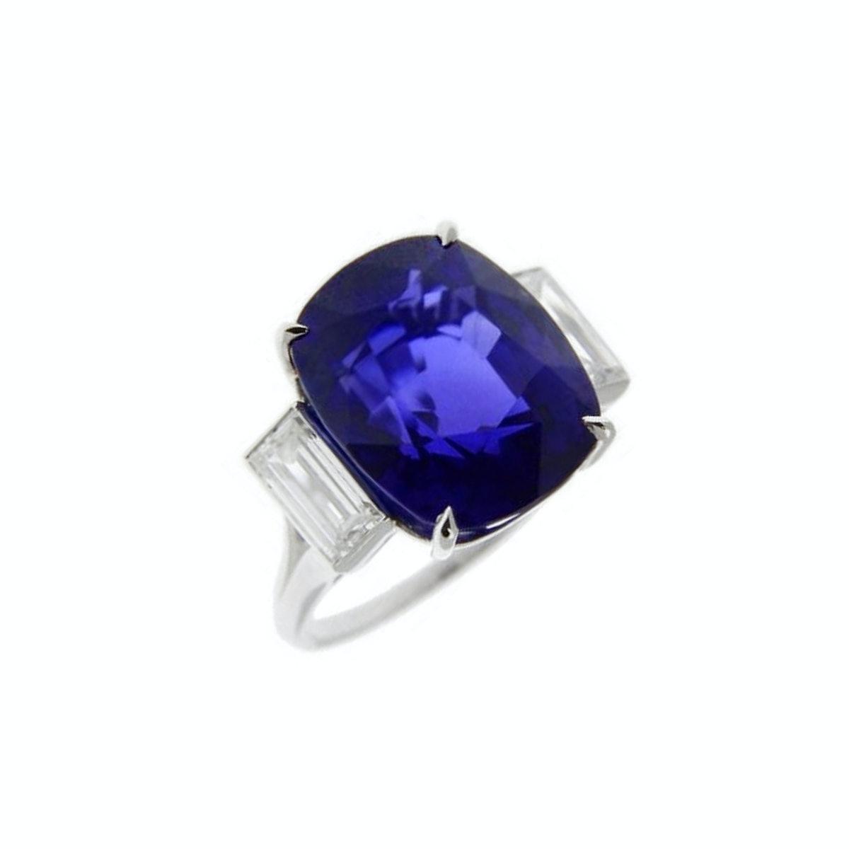 Bulgari-High-Jewelry-17.10-Carat-Sri-Lanka-Sapphire-Ring,-Price-Upon-Request,-at-1-800-BVLGARI