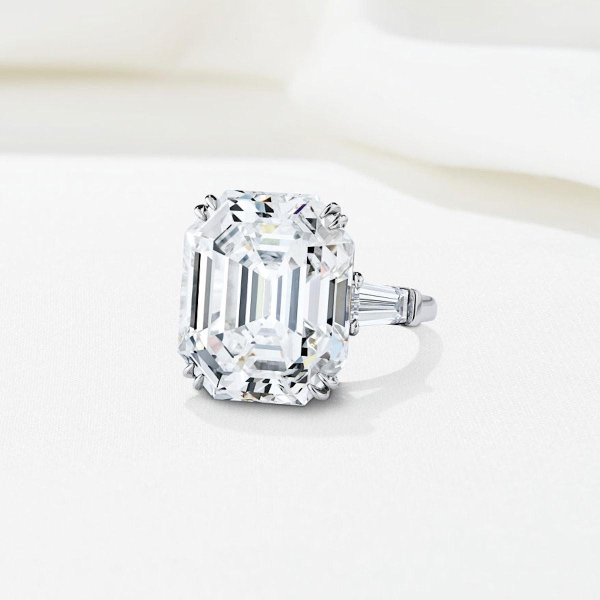 Harry-Winston-20.64-Carat-Emerald-Cut-Diamond-Ring,-Price-Upon-Request,-at-www.harrywinston.com