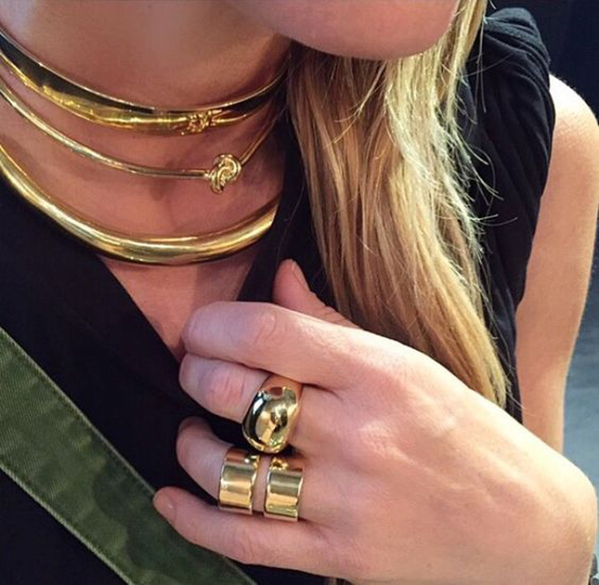 3. JENNIFER JEWELRY LOOK FOR GAME DAY