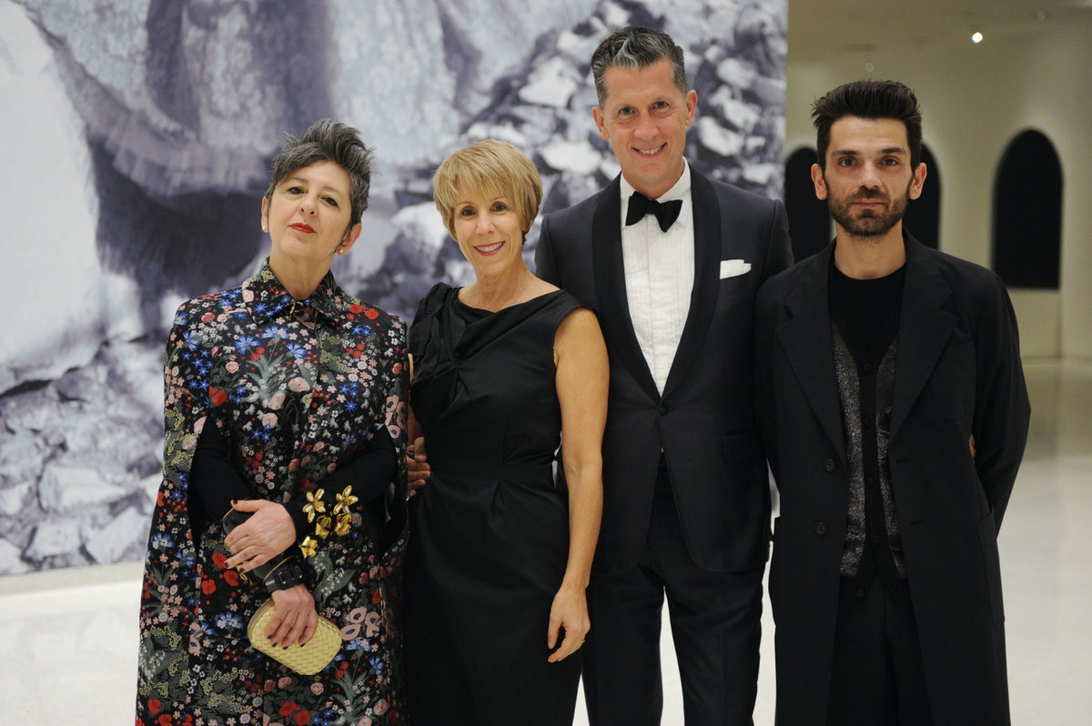 Maria Luisa Frisa, Bonnie Clearwater, Stefano Tonchi, and Gabriele Monti