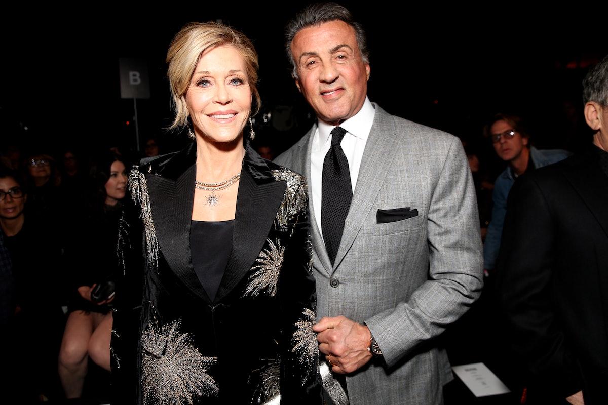 Jane Fonda Sylvester Stallone (1)