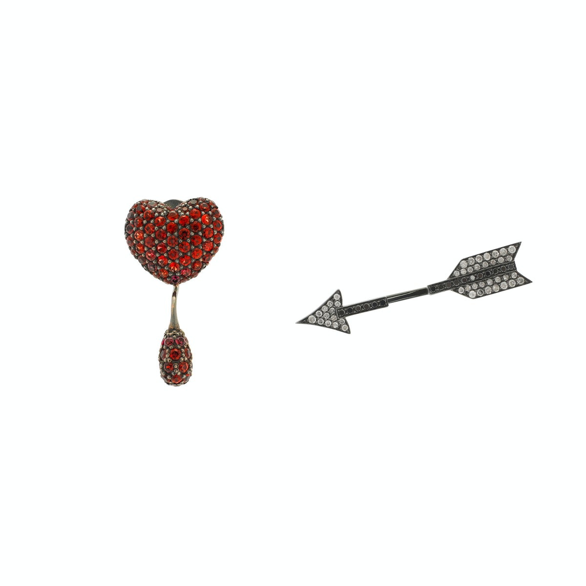 Runa-Heart-and-Arrow-earrings,-$5,465-at-Colette.com