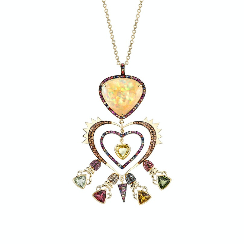 Daniella-Vilegas-Love-Me-Do-necklace,-$34,000,-at-Just-One-Eye,-Los-Angeles.