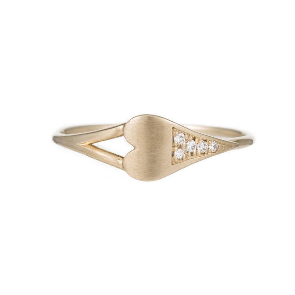 Jennie-Kwon-Diamond-Dipped-Heart,-$420,-at-jenniekwondesigns.com