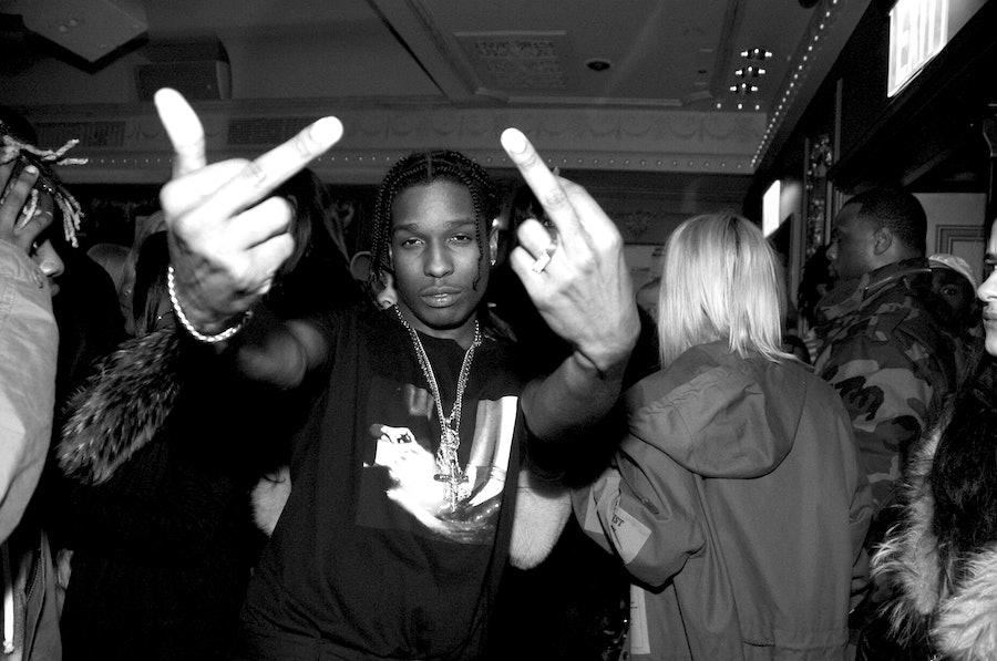 GUESS X A$AP Rocky Party