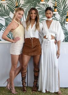 Nina Agdal, Ciara, and Chanel Iman