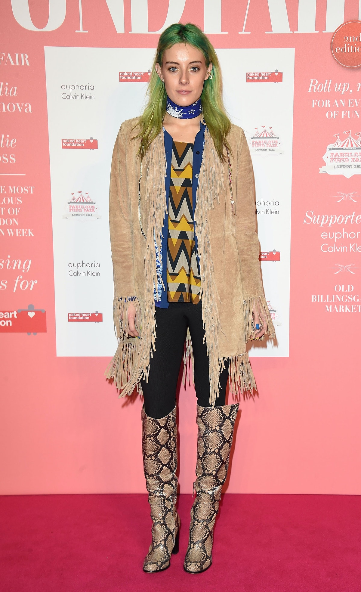 The Naked Heart Foundation's Fabulous Fund Fair In London - Arrivals