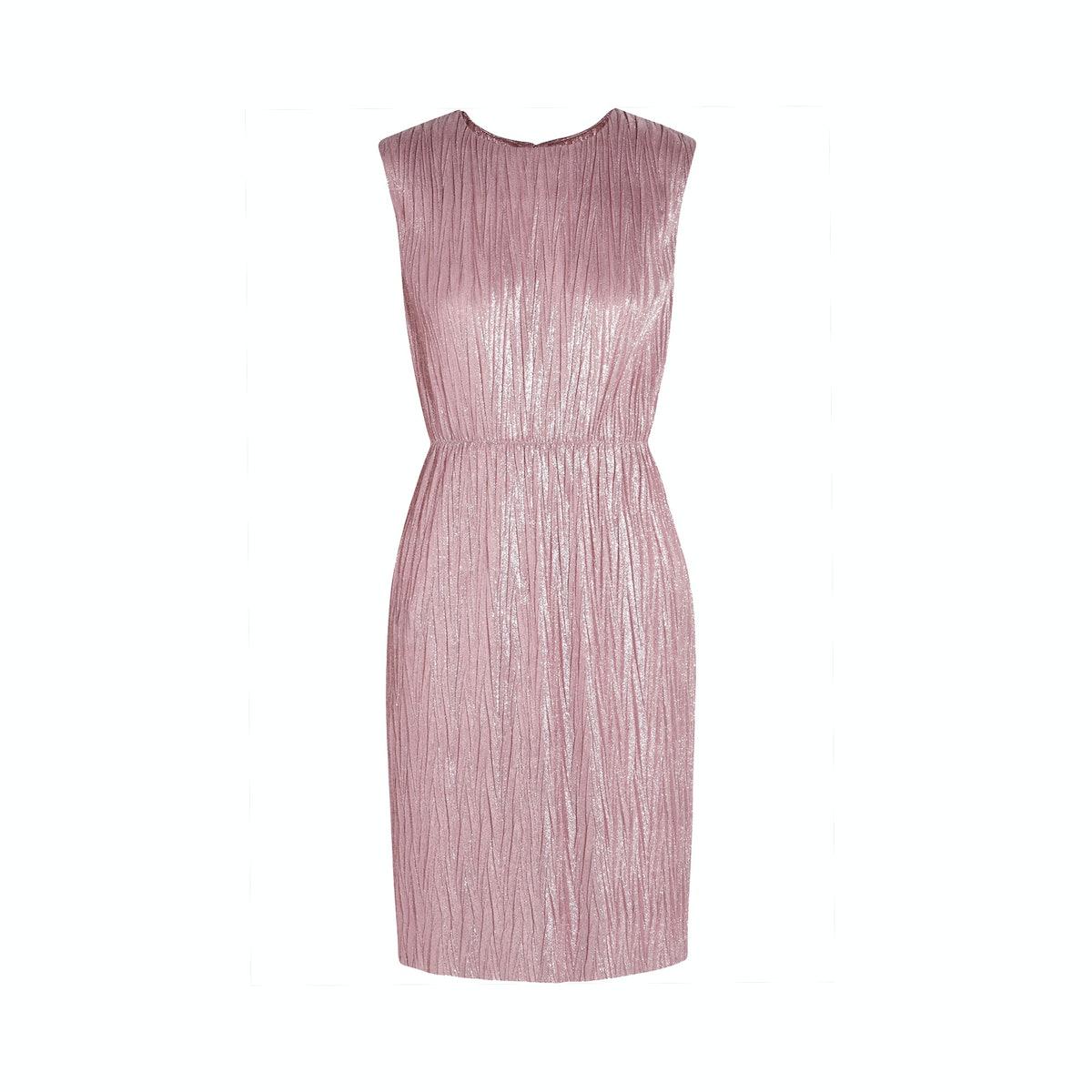 Gucci dress, $1,490, netaporter.com.