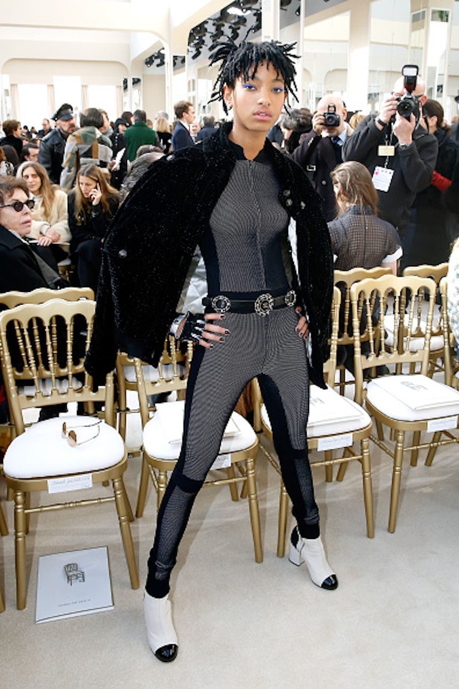 Chanel : Front Row - Paris Fashion Week Womenswear Fall/Winter 2016/2017