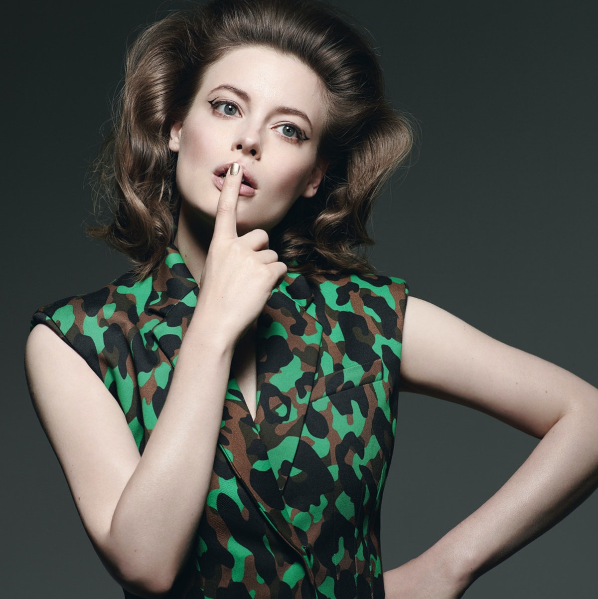gillian jacobs. photo by mark segal, styled by sally lyndley