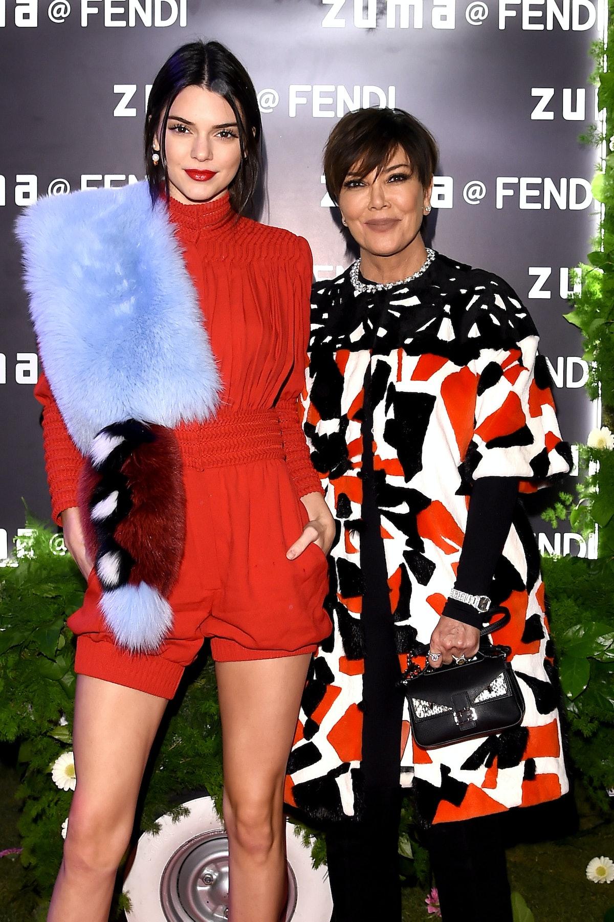 Kendall Jenner and Kris Jenner