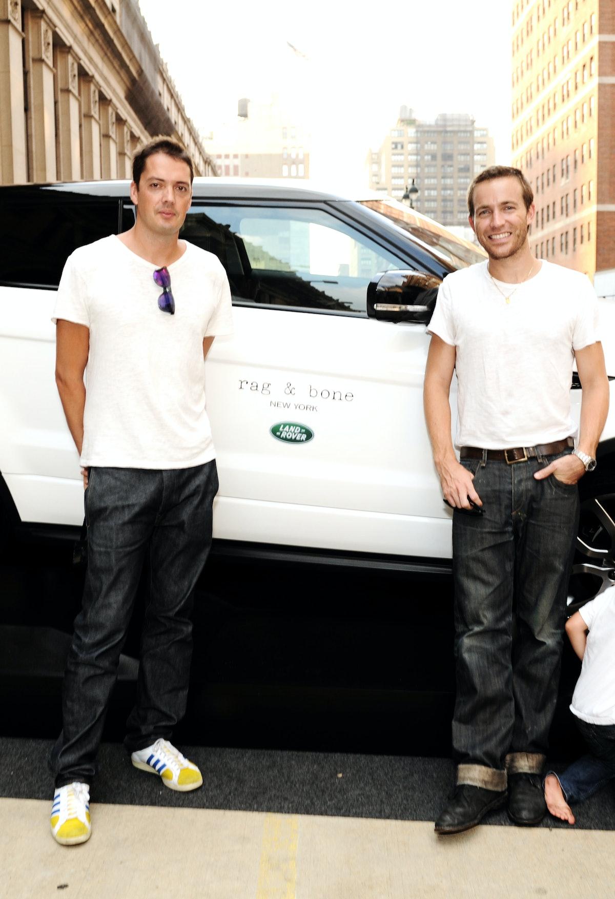 Land Rover Sponsors Rag & Bone Spring 2013 Fashion Show In New York City
