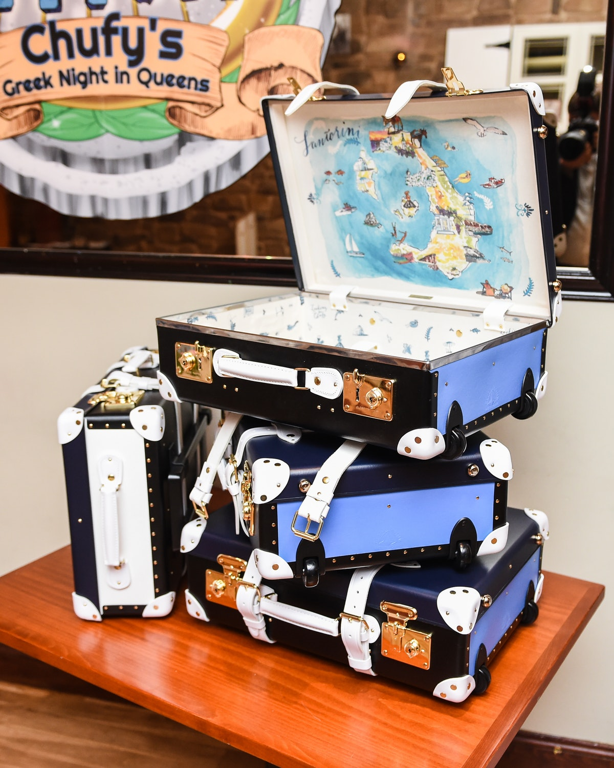Sofia Sanchez de Betak Hosts Dinner: Celebrating the Launch of The Luxury Collection x Globe-Trotter Luggage Collection