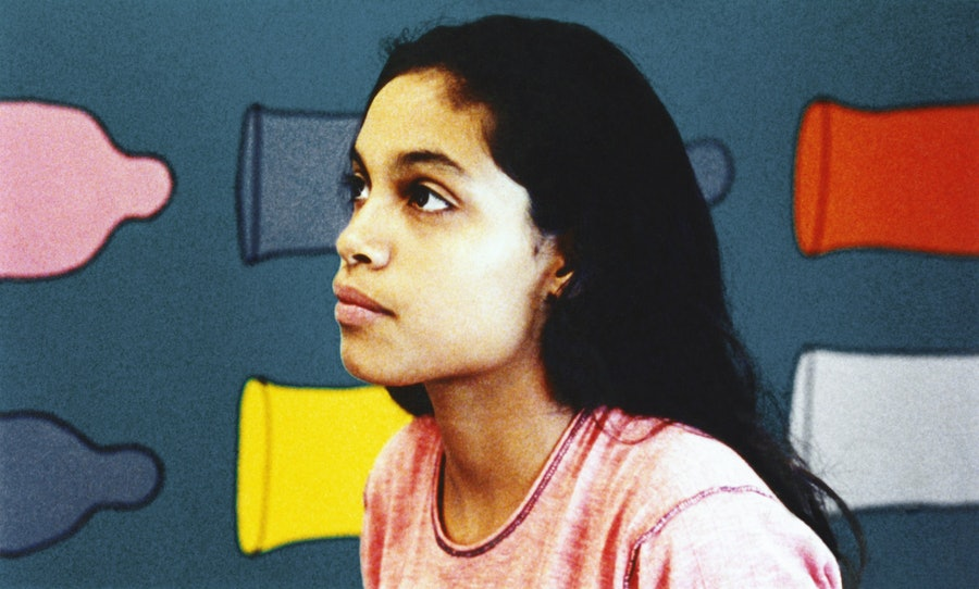 KIDS, Rosario Dawson, 1995, © Shining Excalibur Films/courtesy Everett Collection