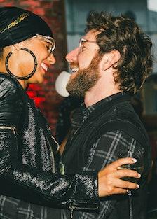 Alicia Keys and Dustin Yellin.