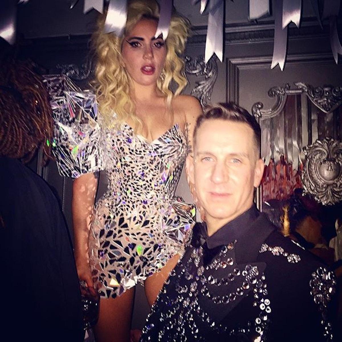 Lady Gaga and Jeremy Scott
