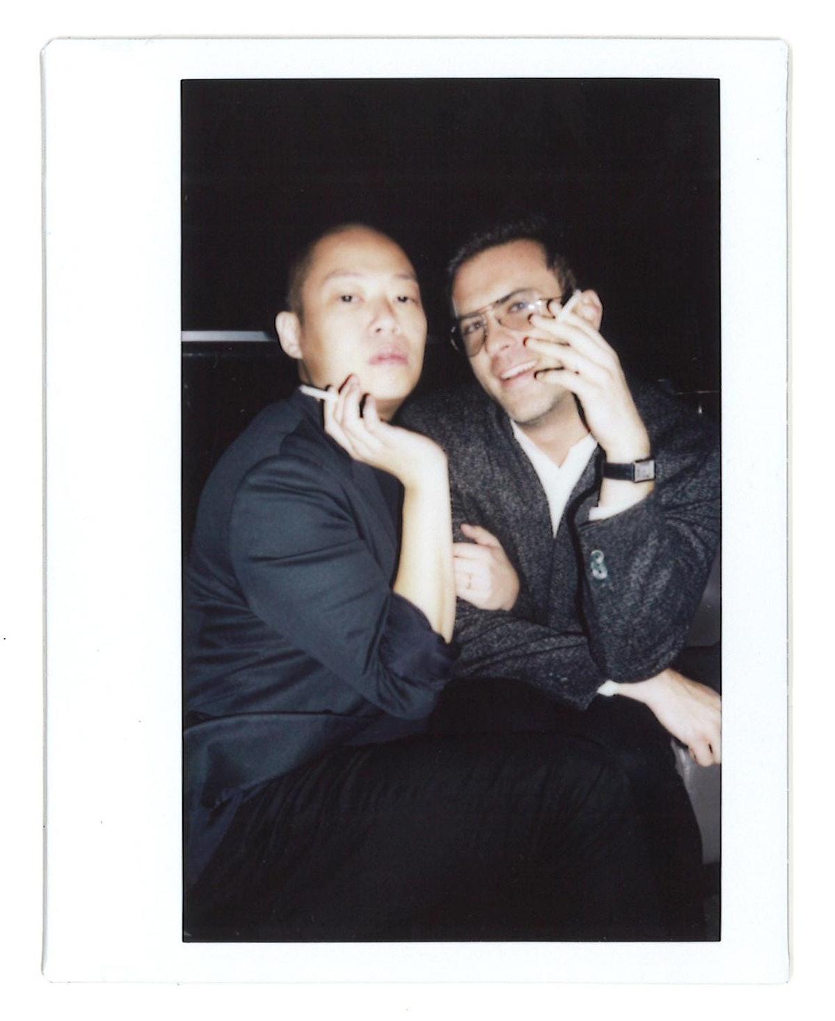 Jason Wu and Bojan Kostic