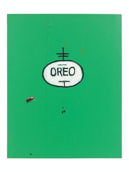BASQUIAT -Untitled (Oreo), 1988