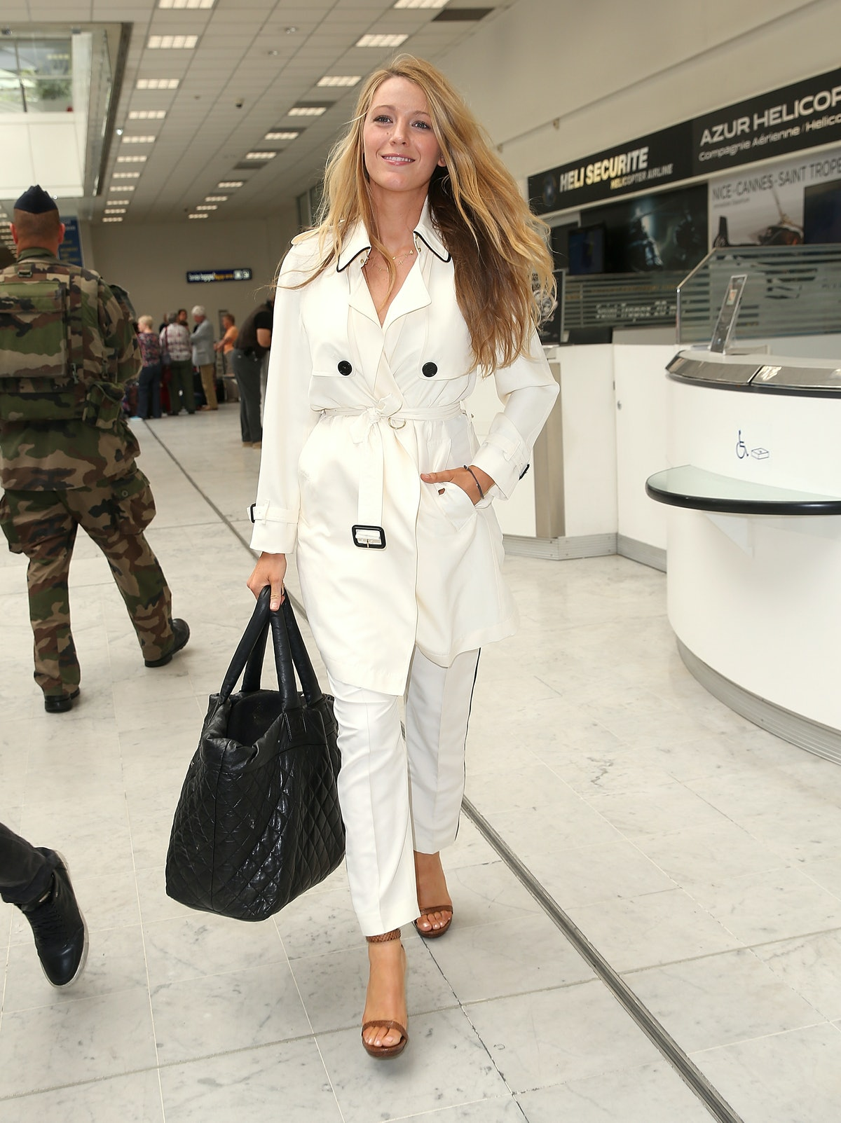 Celebrity Sightings At Nice Airport - May 09, 2016 - The 69th Annual Cannes Film Festival