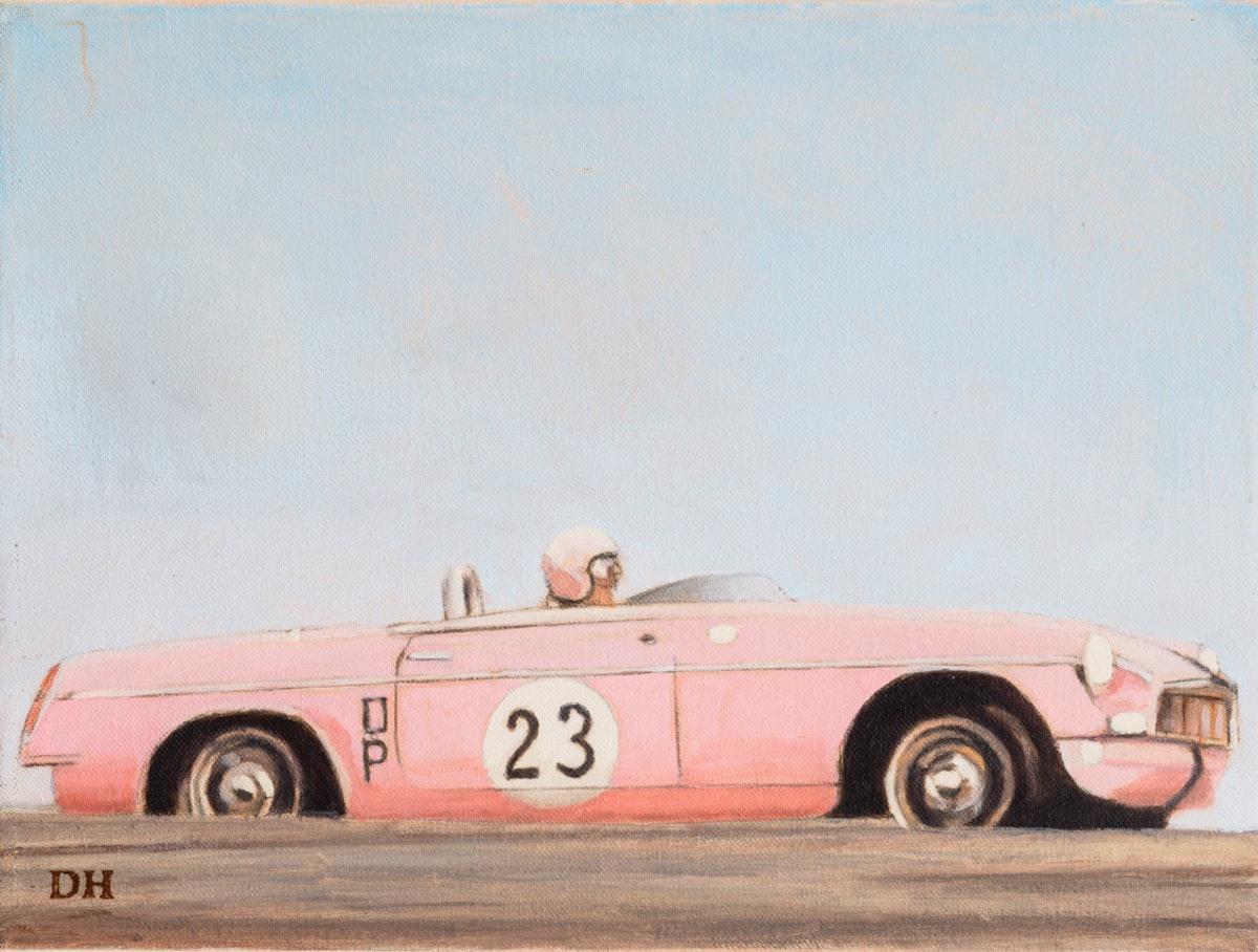 Pink MGB