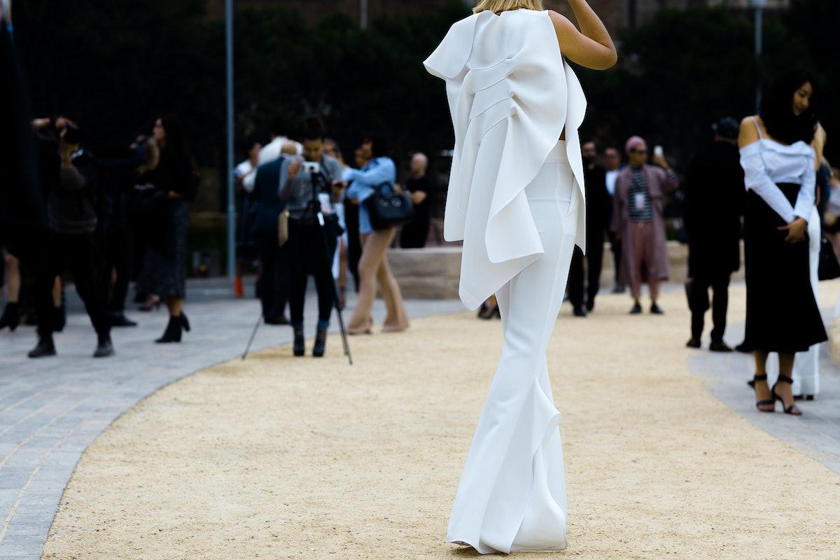 Australia Fashion Week Street Style Day 1