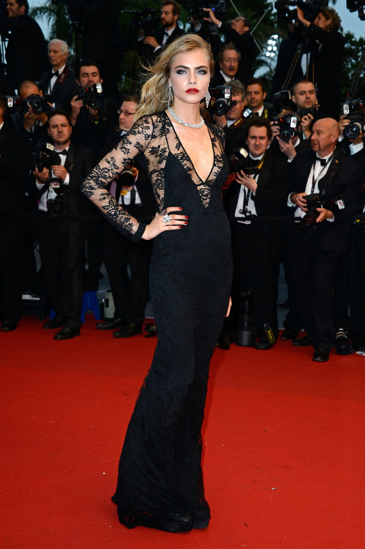 Cara Delevingne in Cannes