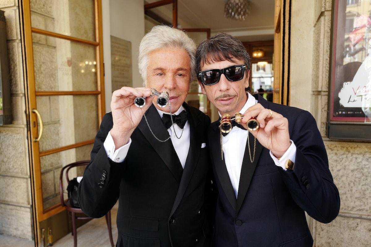 Giancarlo Giammetti and Pierpaolo Piccioli