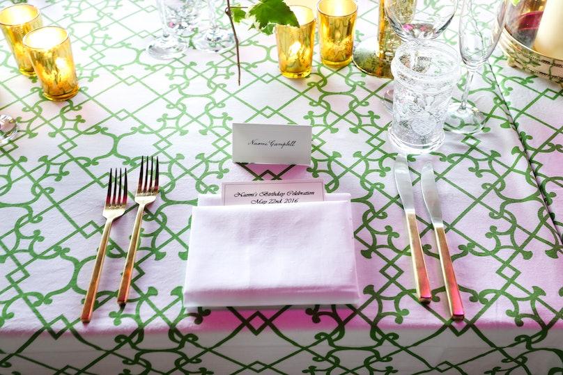 Naomi Campbell : Birthday Celebration Dinner