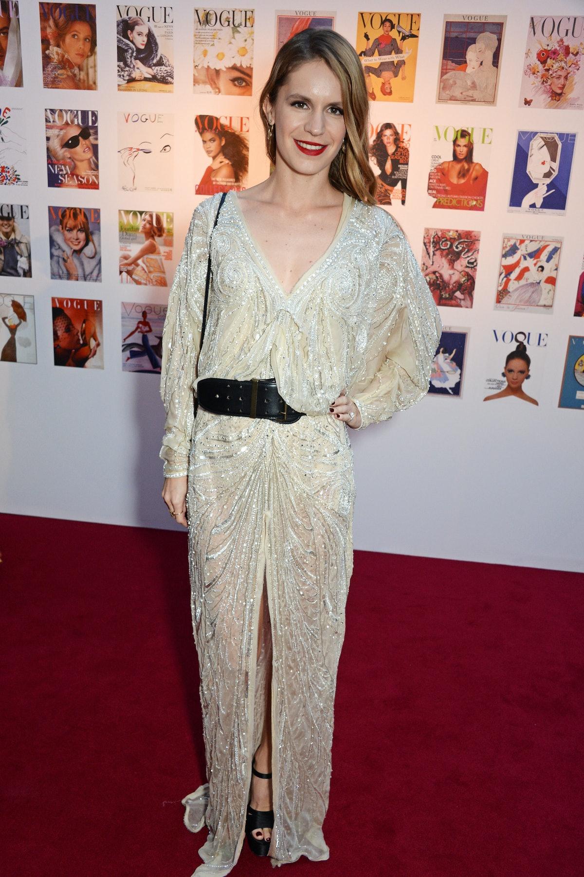 British Vogue's Centenary Gala Dinner - Drinks Reception