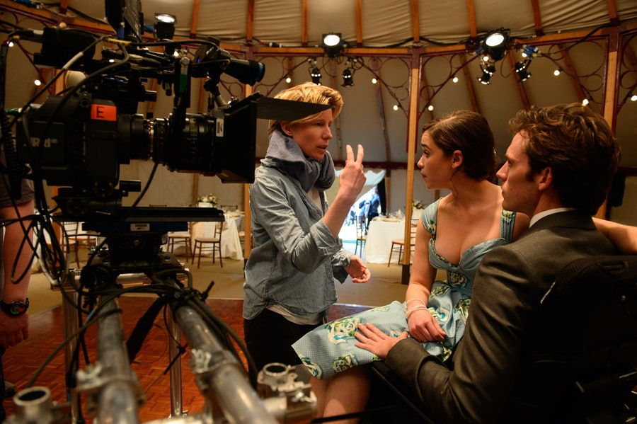 On Set: Me Before You
