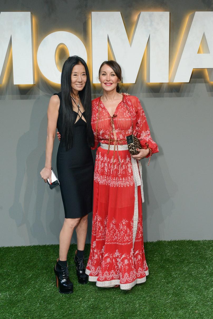 Vera Wang and Tamara Mellon