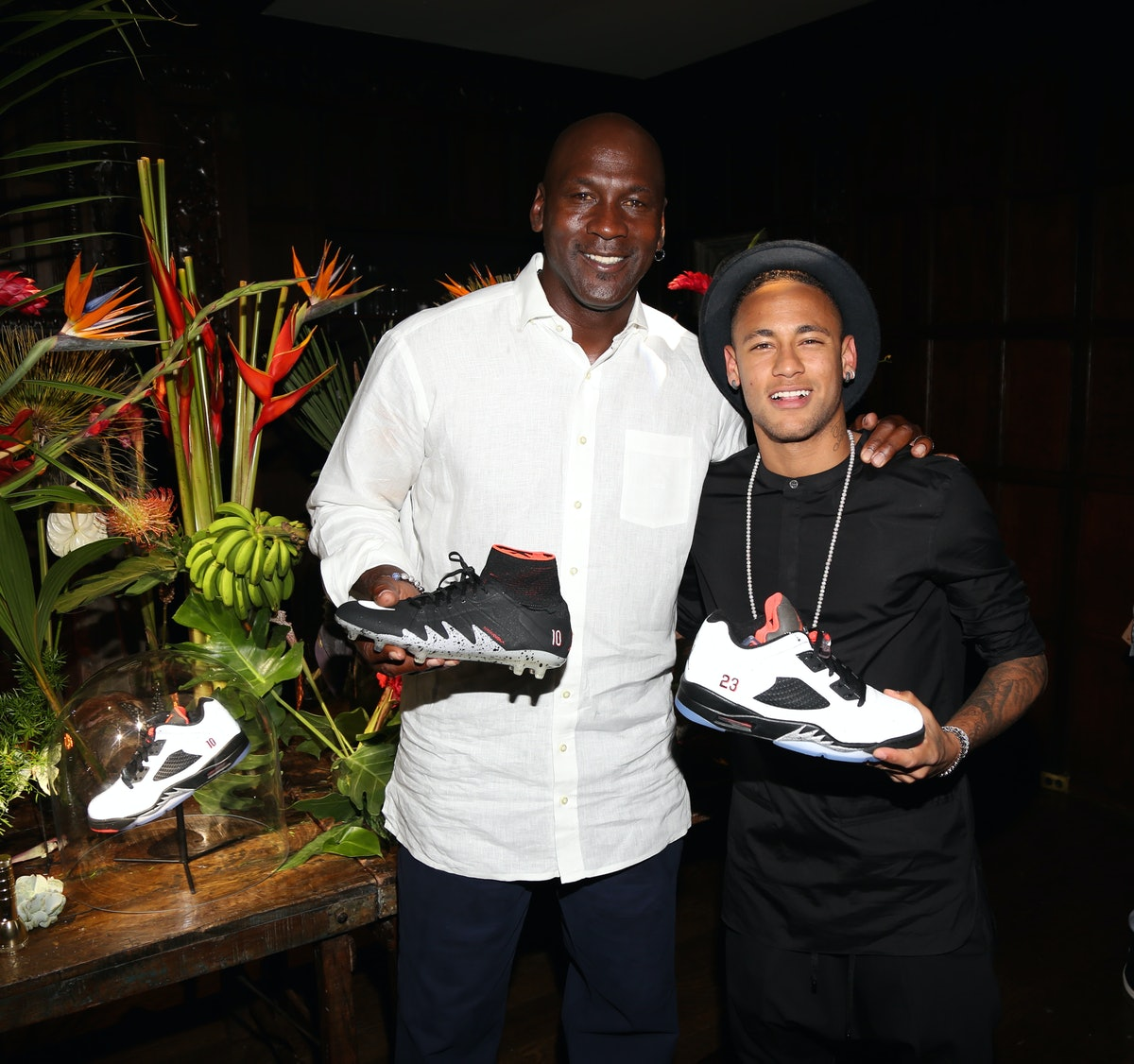 Michael Jordan, Neymar Jr