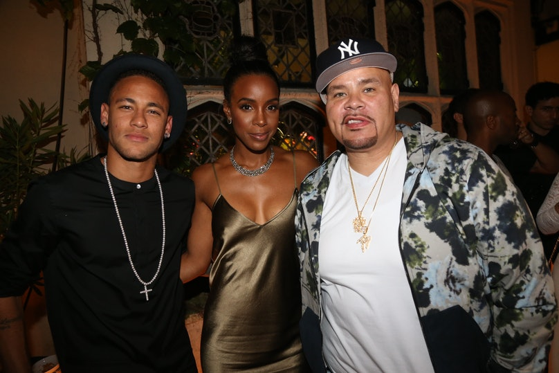 Neymar Jr., Kelly Rowland, Fat Joe