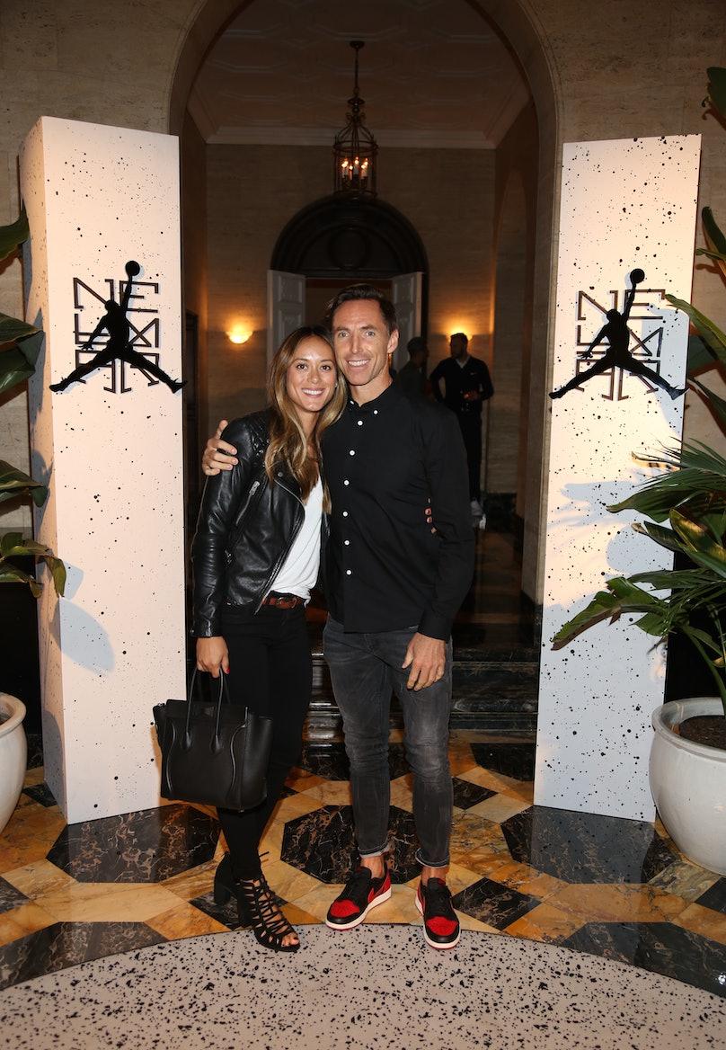 Steve Nash & Lilla Frederick