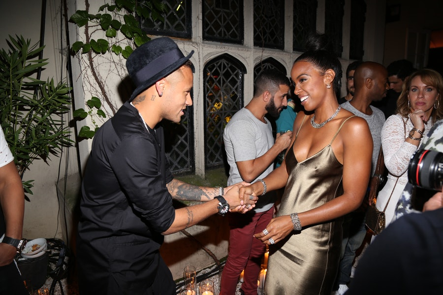 Neymar Jr., Kelly Rowland
