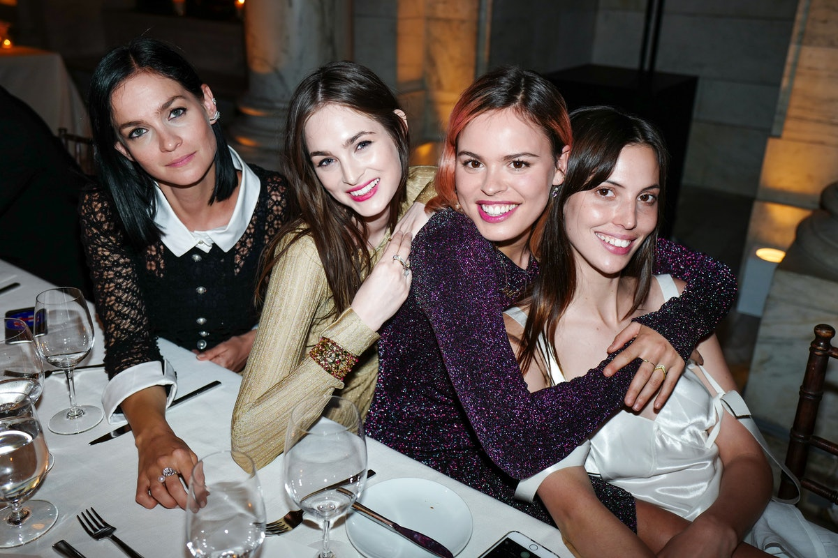 Leigh Lezark, Laura Love, Atlanta de Cadenet Taylor, and Lily Aldridge
