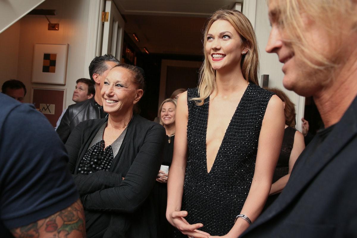 Trey Laird & Nadja Swarovski Host: Karlie Kloss Swarovski Campaign Celebration