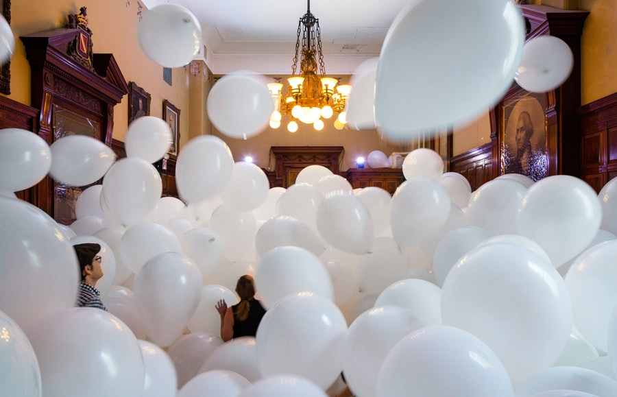 Martin Creed at the Park Avenue Armory