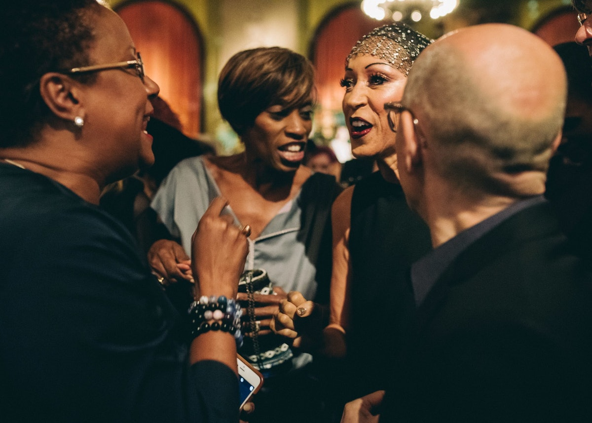 Pat Cleveland Book Launch Party