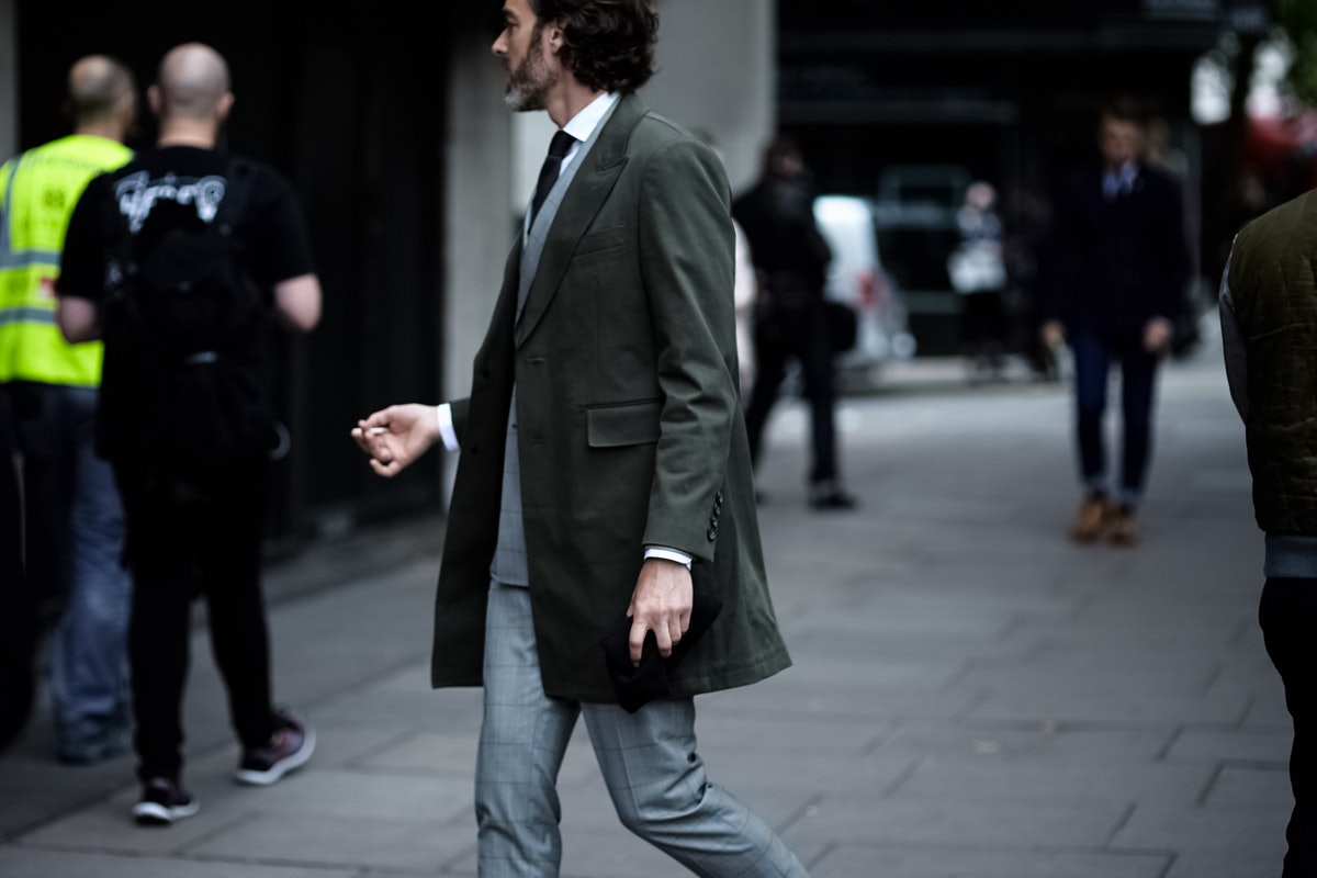 London Collections Men Street Style Day 2