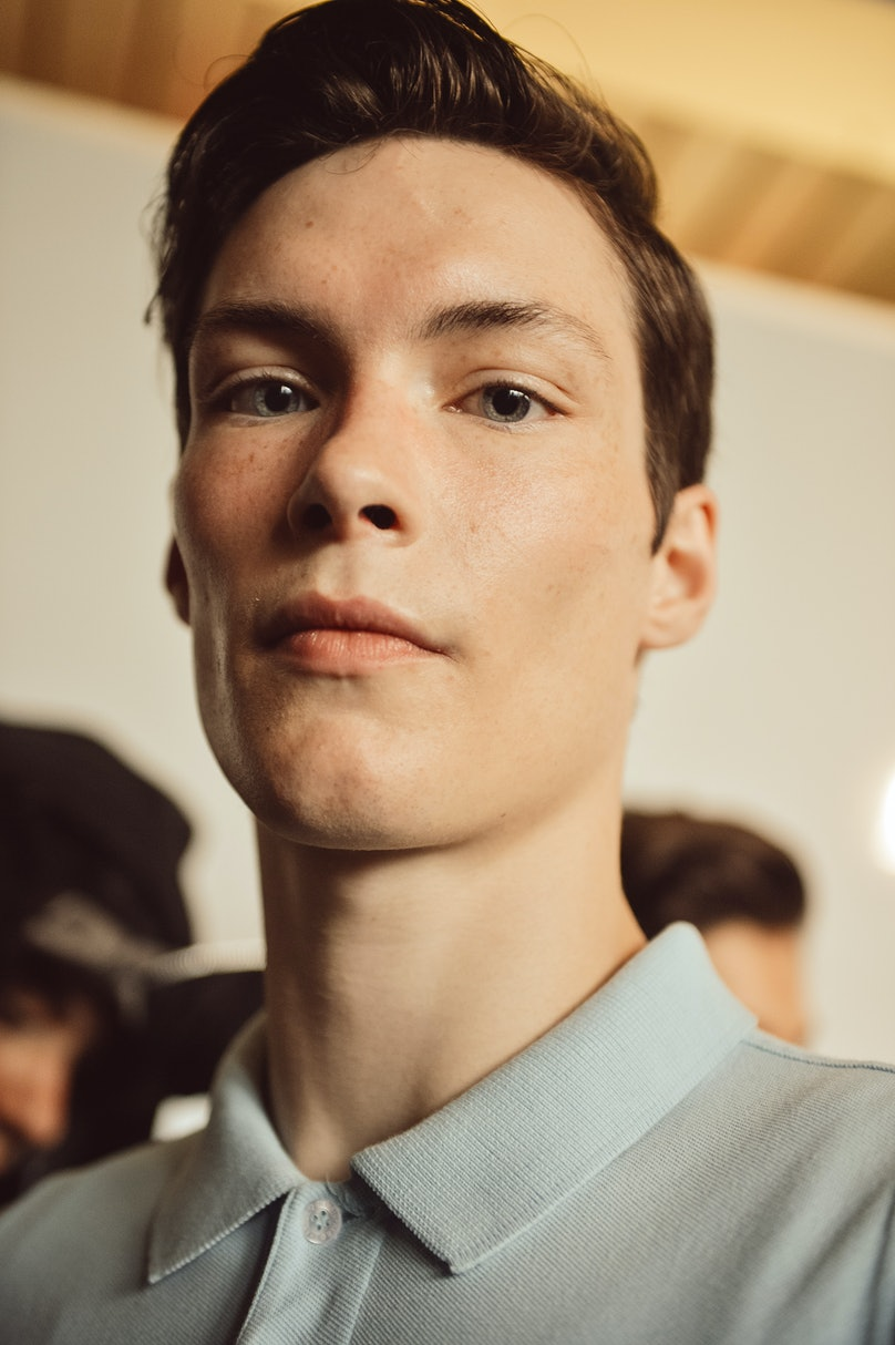 Christopher Shannon Backstage