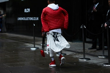 London Collections Men Street Style Day 4