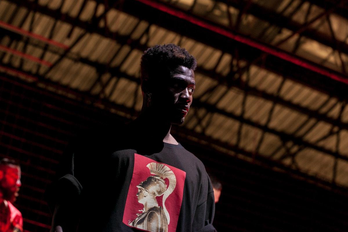 Backstage at Fausto Puglisi, Pitti Uomo