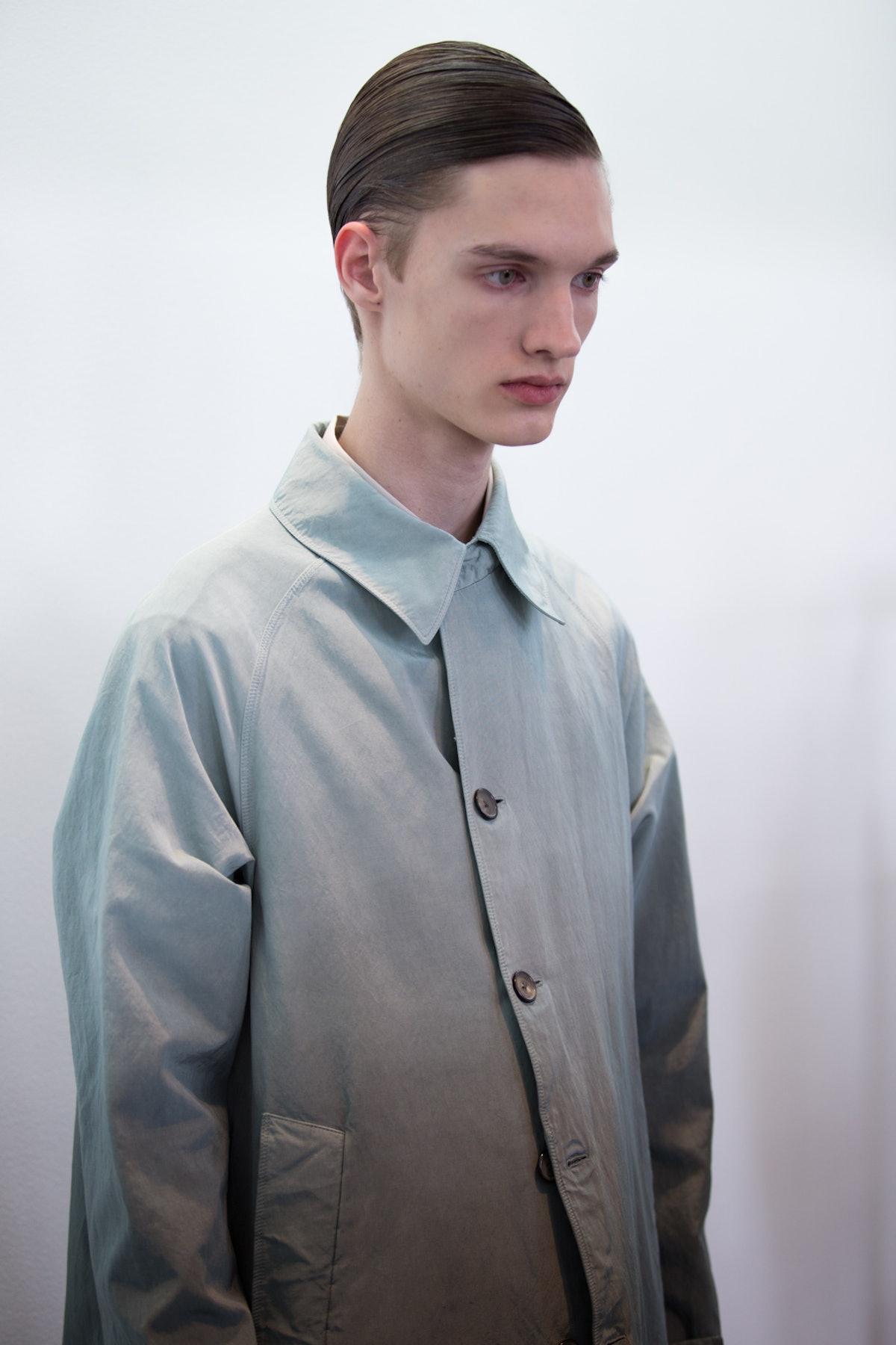 Jil Sander Menswear Backstage Spring 2017