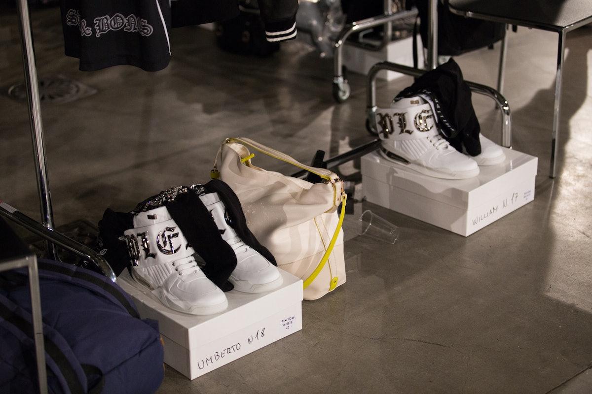 Philipp Plein Menswear Backstage Spring 2017