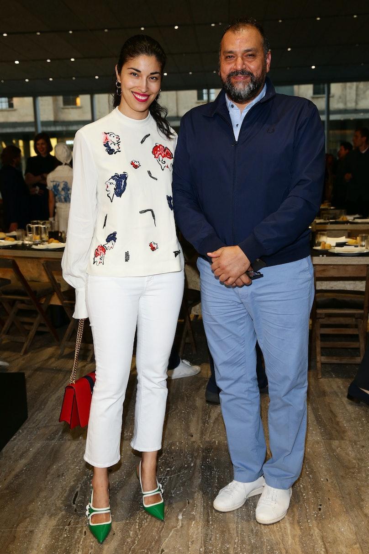 Miuccia Prada And Patrizio Bertelli Host A Private Dinner At Fondazione Prada