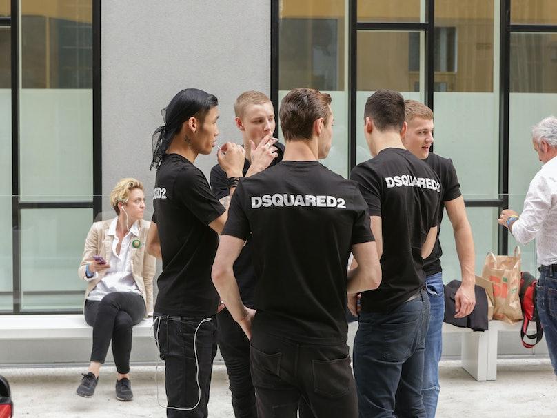 Dsquared2 Milan Men's Fashion Week Spring 2017