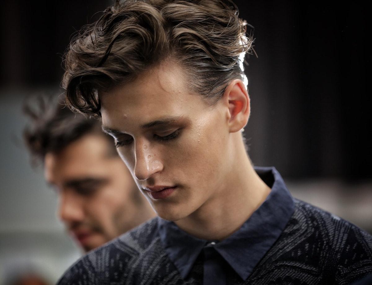 Giorgio Armani Milan Men's Fashion Week Spring 2017Giorgio Armani Milan Men's Fashion Week Spring 2017